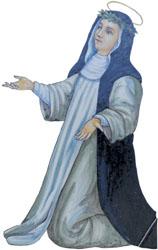 Caterina da Siena (Gualdo Cattaneo, scheda 057)