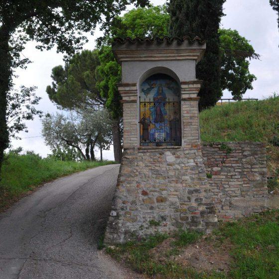 Bevagna - Bevagna, via Santissima Annunziata «Madonna dell'Universo» [BEV002]