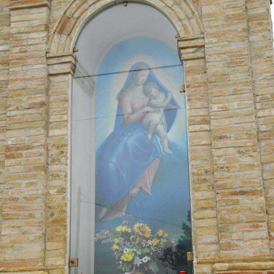 Bevagna - Bevagna, via Passo della Paglia «Madre di Dio, Madre Nostra» [BEV003]