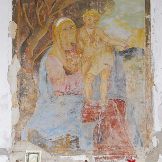 Bevagna - Limigiano, via Sant'Eurosia «Madonna delle Grazie» [BEV026]