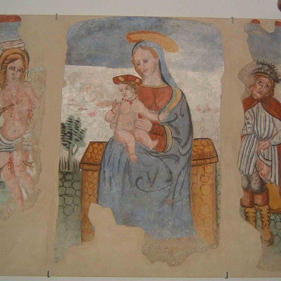 Bevagna - Cantalupo, Madonna della Pia [BEV032]