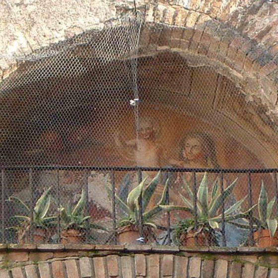 Bevagna - Bevagna, Porta Foligno «Edicola di Porta Foligno» o «San Vincenzo» [BEV060]