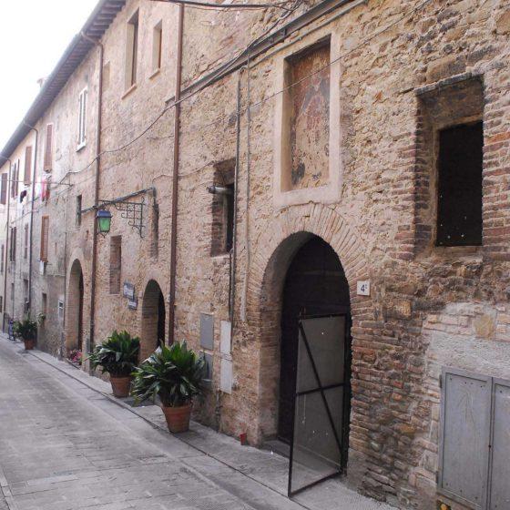 Bevagna - Bevagna, via del Gonfalone [BEV069]