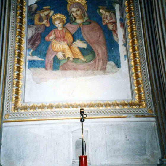 Castel Ritaldi - La Bruna, chiesa della Madonna della Bruna «Madonna della Bruna» [CAS014]