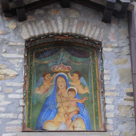 Castel Ritaldi - Colle del Marchese, numero civico 10 [CAS029]
