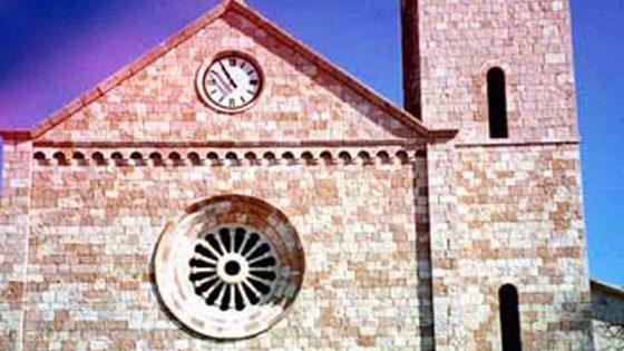 Castel Ritaldi - Colle del Marchese, nuova chiesa di San Pancrazio [CAS030]