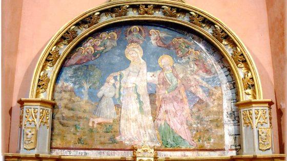 Giano dell'Umbria - Castagnola, santuario della Madonna del Fosco [GIA020]