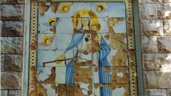 Giano dell'Umbria - Case Maggi, chiesa della Madonna della Mercede «Madonna della Mercede» [GIA053]