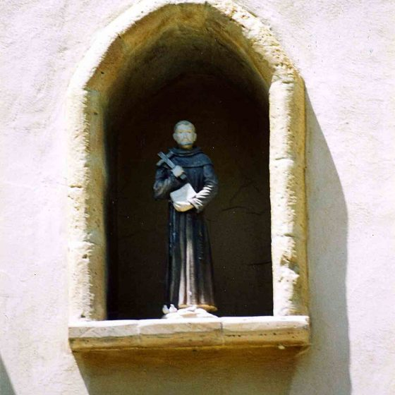Montefalco - Montefalco, via G. Verdi chiesa di San Leonardo [MON006]