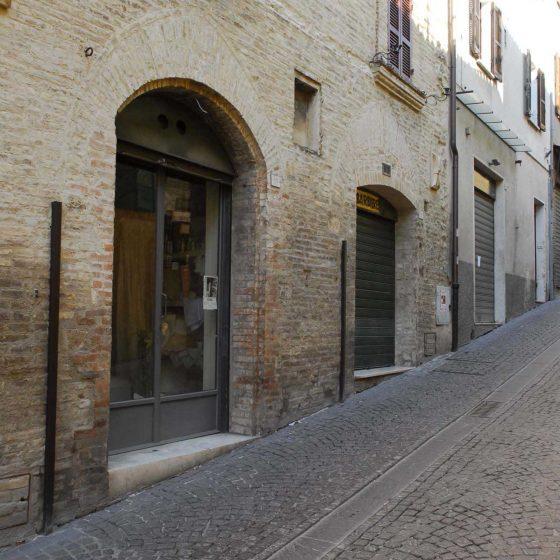 Montefalco - Montefalco, corso G. Mameli 19-21 palazzo Scorzoni [MON008]