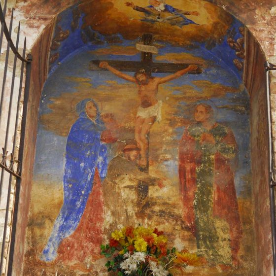 Montefalco - Poggiolo del Camiano, «Maestà del Crocifisso» [MON016]
