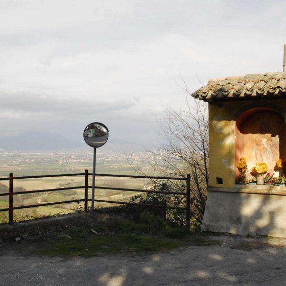 Montefalco - Camiano Grande, «Maestà dei fraticelli» [MON020]