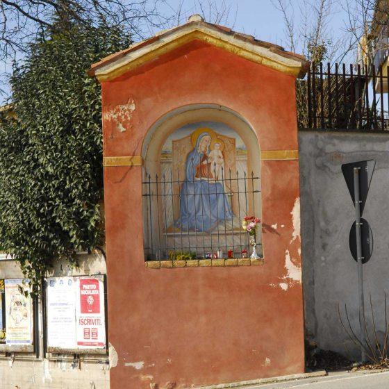 Montefalco - Montefalco, quadrivio della corta Spoleto - San Fortunato «Maestà dell'Incancellata (o dei Bennati)» [MON028]