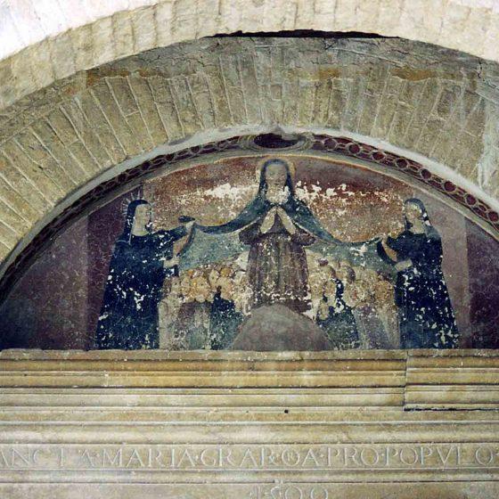 Montefalco - Montefalco, chiesa di Santa Illuminata «Madonna della Misericordia» [MON030]