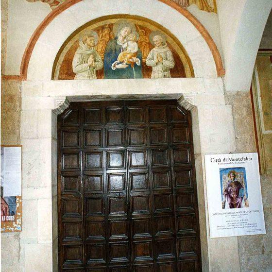 Montefalco - San Fortunato, chiesa-convento dei Frati minori [MON033]