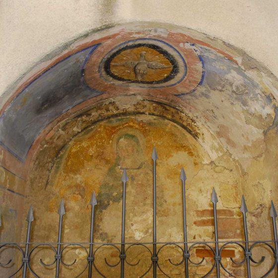 Montefalco - Fabbri, via principale del castello di Fabbri [MON035]
