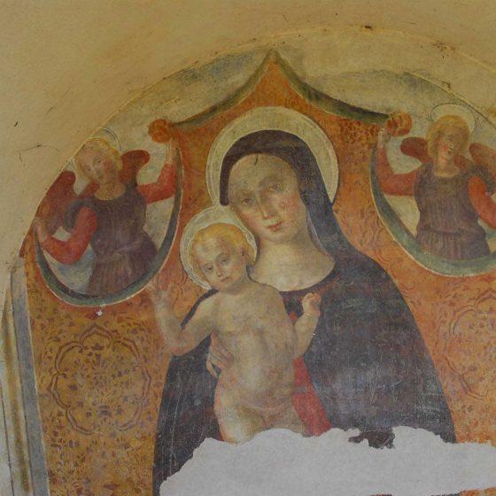 Montefalco - Fabbri, cimitero comunale «Maestà del Cimitero» [MON036]