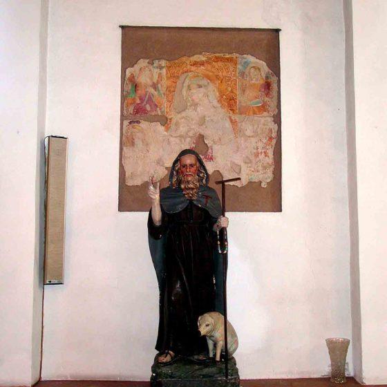 Montefalco - Montepennino, chiesa della Santissima Trinità [MON042]