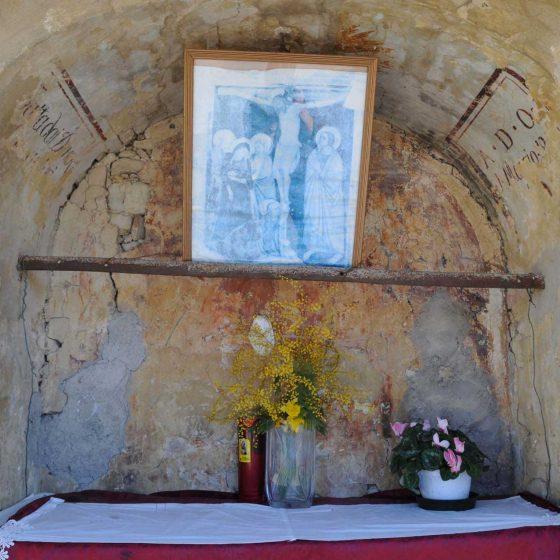 Montefalco - Colle San Clemente «Maestà di Colle San Clemente» [MON047]