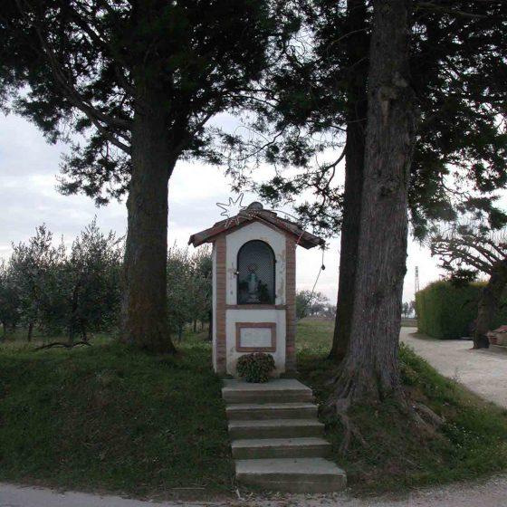 Montefalco - Casale, bivio per Casale «Maestà Micheli» [MON058]