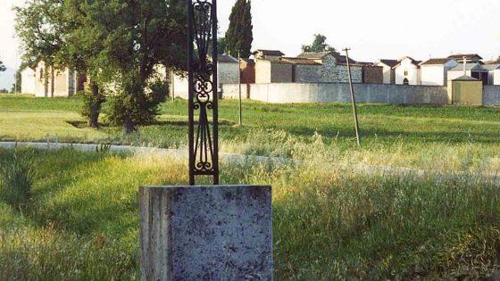 Montefalco - Madonna della Stella, «Croce dei Passionisti della Stella» [MON090]