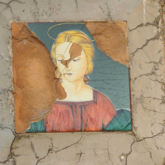 Spoleto - Spoleto, Tre Madonne «Le tre Madonne» [SPO046]