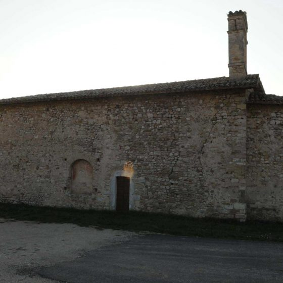 Spoleto - Beroide, chiesa di Sant'Antonio Abate [SPO076]
