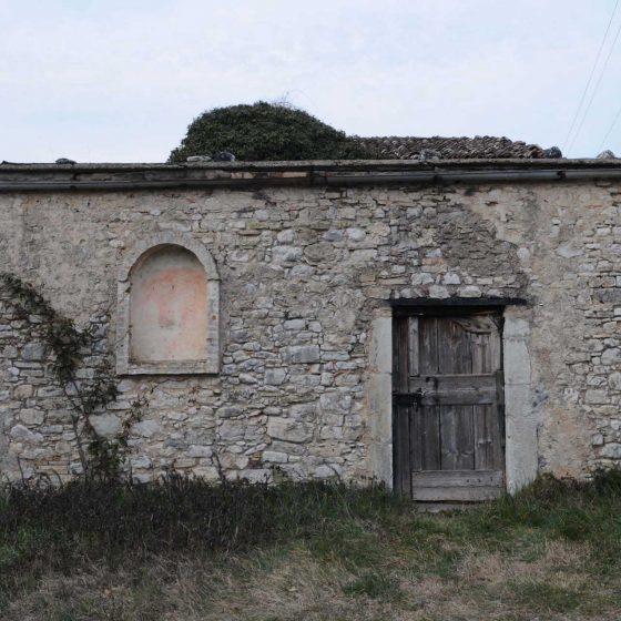 Spoleto - Strettura, Palazzo del Papa Chiesa vecchia [SPO164]