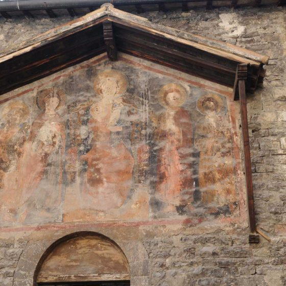 Spoleto - Spoleto, chiesa dei Santi Giovanni e Paolo [SPO176]