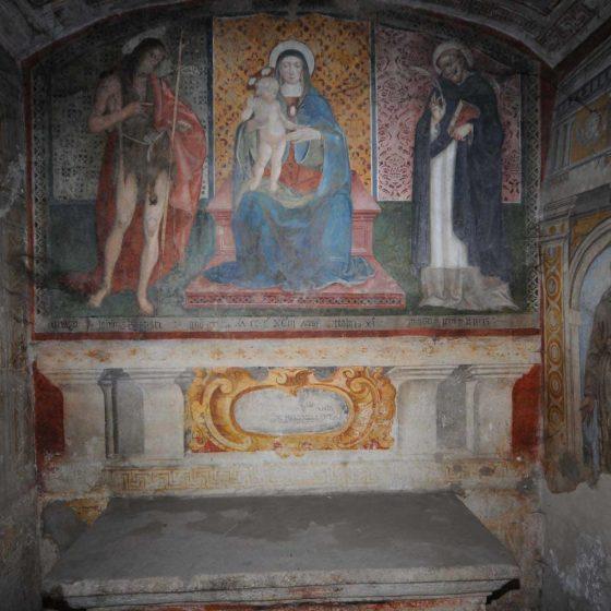 Spoleto - Spoleto, chiesa di Santa Maria del Pozzo [SPO182]
