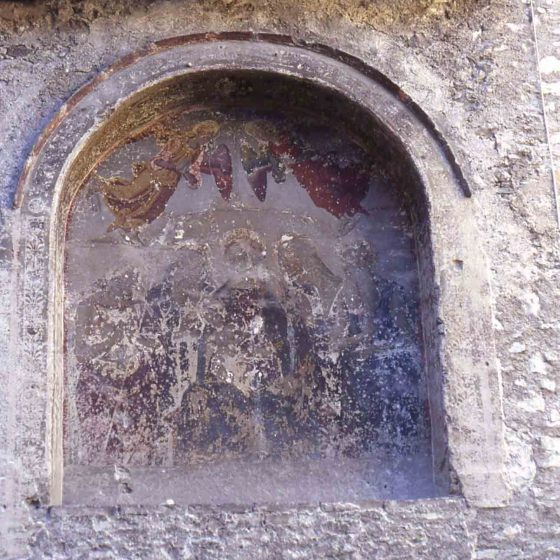Spoleto - Spoleto, vicolo San Giovanni Battista monastero di San Giovanni Battista «de Porta Fuga» [SPO179-209]