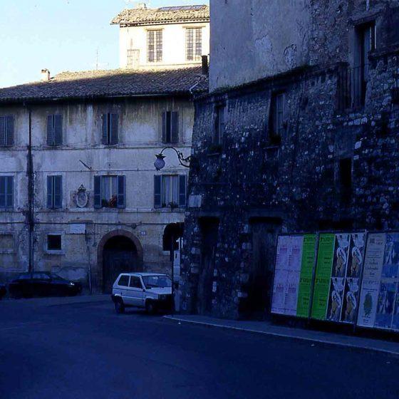 Spoleto - Spoleto, largo A. Fratti [SPO214]