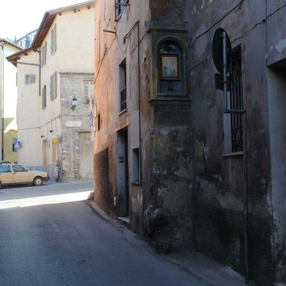 Spoleto - Spoleto, via dei Gesuiti [SPO230]