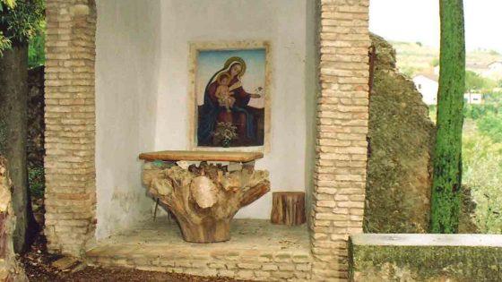 Trevi - Trevi, viale Ciuffelli convento di San Martino [TRE502]