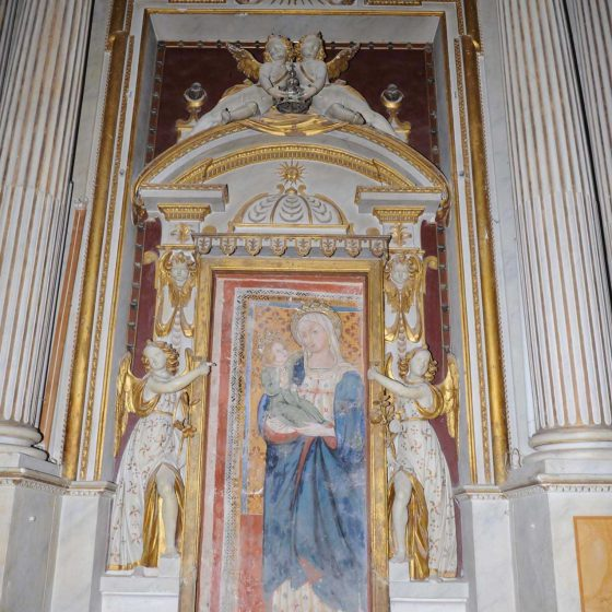 Trevi - Trevi, chiesa della Madonna delle Lacrime «Madonna delle Lacrime» [TRE590]
