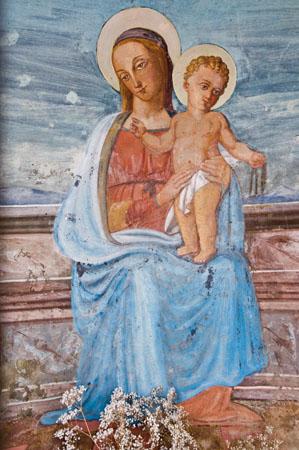 Trevi - Bovara, abbazia di San Pietro «la Cappelletta» [TRE690]