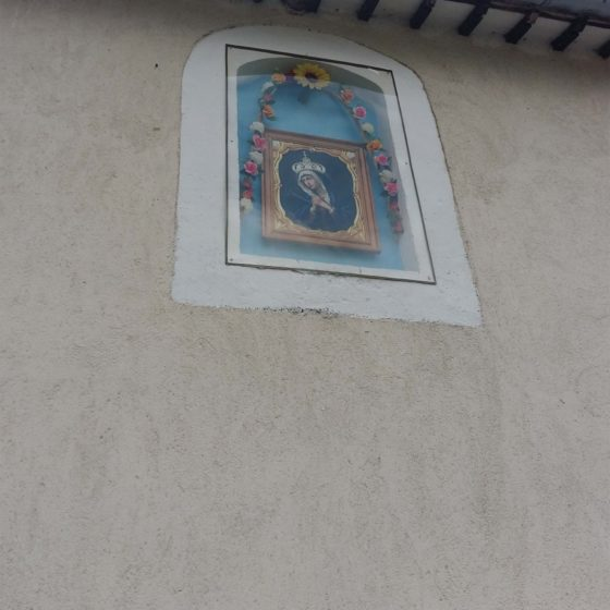 Edicola votiva TREVI – MATIGGE, VIA FOLIGNO [TRE320], CASA MOCCOLI