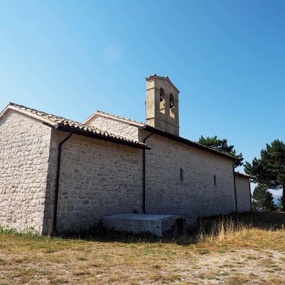 Curasci, Santuario di San Salvatore