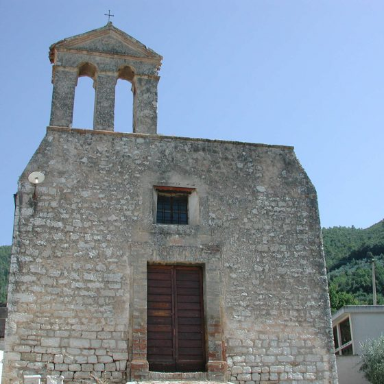 Pigge, La Cura, chiesa di San Bernardino
