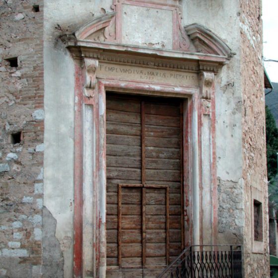 Pigge, chiesa Tonda, Santa Maria del Ponte