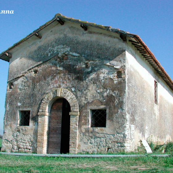 Trevi, San Lorenzo, chiesa di Sant'Anna