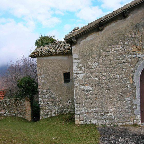 Ponze, chiesa di San Lorenzo