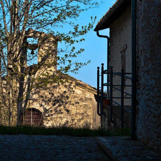 Trevi, Villa di Riosecco, chiesa della Madonna della Neve