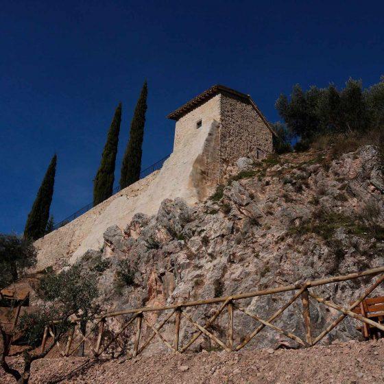 Trevi, resti della chiesa di Santa Caterina