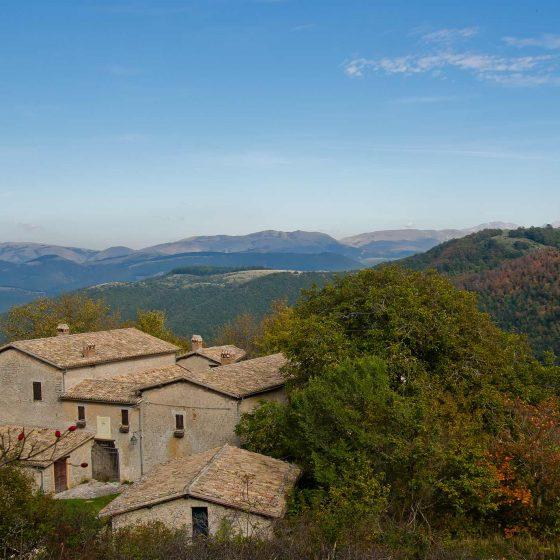 Trevi, Villa di Riosecco