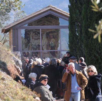 Sabato 5 febbraio 2011, alla presenza delle autorità locali e regionali è stato presentato al pubblico il restauro della parete di fondo della antica chiesa di Santa Caterina.