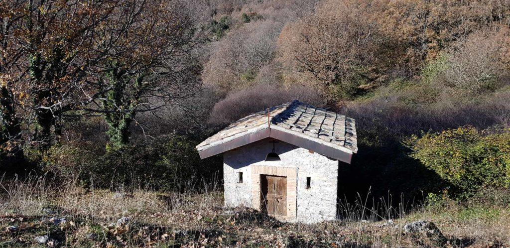 Eremo San Giovanni Battista, Ancaiano - Le Cese (Rocca di Ancaiano)