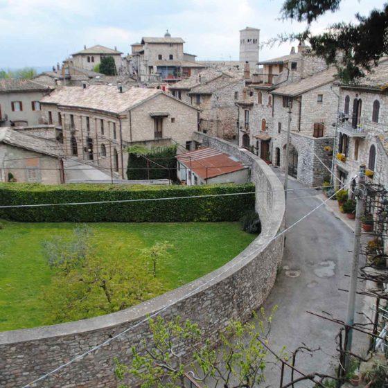 Assisi, anfiteatro romano