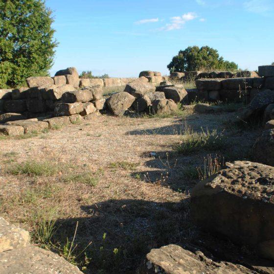 Cannara, Collemancio, Urvinum Hortense, interno del tempio