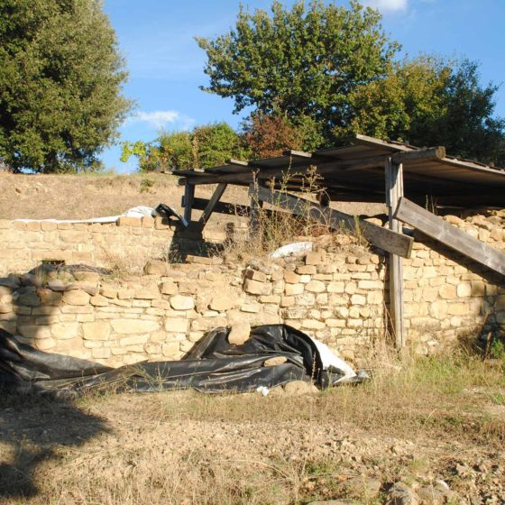 Cannara, Collemancio, Urvinum Hortense, scavo del complesso termale